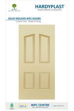 WPC Solid Moulded Doors