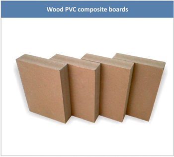 Wood PVC Composite Boards