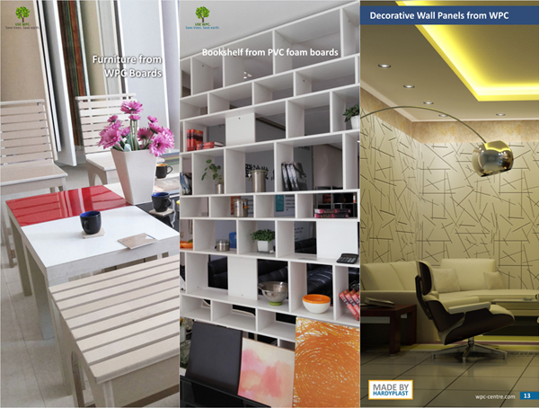 WPC for Interiors Furniture