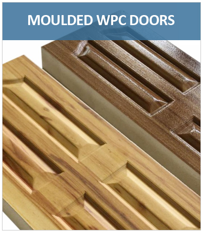 Solid Moulded WPC Doors