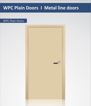 Solid Wpc Doors Wpc Solid Doors 3 Layer Solid Door