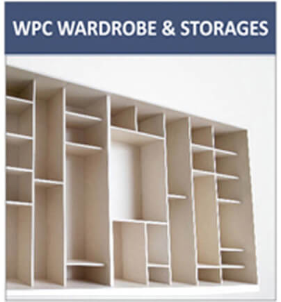 wpc wardrobe and storages